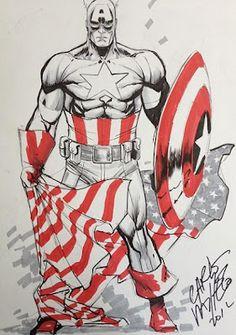Captain America by Carlos Pacheco