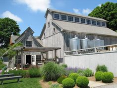 The 9 Best Tasting Rooms on Long Island's North Fork: Shinn Estate Vineyards and Farmhouse