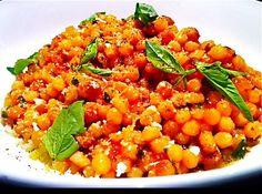 Fregola Sarda with Tomato, Pecorino, and Basil , a recipe on Food52