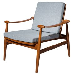 """Finn Juhl """"Spade"""" Lounge Chair 