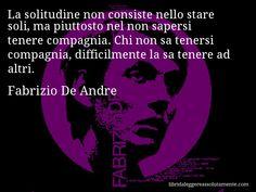 Cartolina con aforisma di Fabrizio De Andre (60)