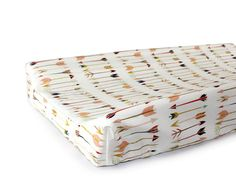 LARGE ARROWS - Modern Changing Pad Cover