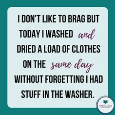 @polkadotsandplaid posted to Instagram: I do this ALL the time!!  I have had to rewash the same wash 3 times before due to forgetting about it.  Also the dryer.  Open it up to put new stuff in only to realize there have been clothes sitting in there for days.  Yikes!!  Tell me I'm not the only one? #wash #laundry #mombrain #polkadotsplaid #momonamission#momlife#boymom #stayathomemom#workathomemom #sahmlife #homeschoolmom #unschoolingmom#usbornebooks#ubam #usbornebooksandmore… Stay At Home Mom, Work From Home Moms, Mom Brain, Wash N Dry, Dryer, Laundry, Forget, Times, Clothes