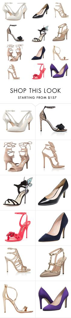"""""""Even More Heels"""" by mikahelaine ❤ liked on Polyvore featuring Cole Haan, Yves Saint Laurent, Diane Von Furstenberg, Giuseppe Zanotti, Sophia Webster, Kate Spade, Sergio Rossi, Valentino, Aquazzura and SJP"""