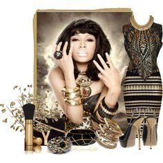 """Nicki Minaj"" by flowerchild805 on Polyvore"