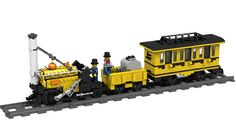 The train is RC compatible, can be operated with infrared remote control. The model is equipped with: XL motor, IR receiver, Battery box, On/off switch. Passenger cars with or without roof, opening doors. (The roof of the car can be easily removed.) 4 minifigs. Made with LDD. If you like it, please support it at: ideas.lego.com/projects/37328