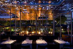 Iluminación exteriores. Iluminación de terrazas. Iluminación de restaurantes.La renovada terraza de Nuba Barcelona da la bienvenida al verano.
