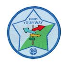 Guide Find Your Way Badge - 2013 onwards
