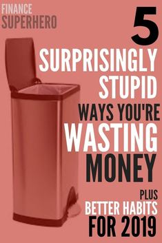 A whopping 8 out 10 people admits to wasting money on stupid things. If you're looking to save money in 2019 these money management tips will help you save more money and stop wasting it in ways that don't add value to your life. Best Money Saving Tips, Ways To Save Money, Money Tips, Saving Money, Investing Money, Frugal Living Tips, Frugal Tips, Budgeting Finances, Budgeting Tips