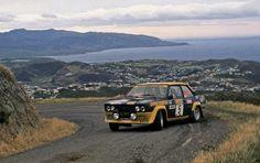 Rally New Zeland 1977 Lampinen Fiat Abarth 131 Sports Car Racing, Race Cars, Fiat 500, Subaru Rally, Rally Raid, Fiat Abarth, New Zealand, Automobile, World