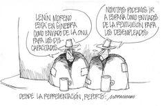 """Les dejamos con nuestra caricatura de hoy:  """"Desde la representación""""  #Opinión"""
