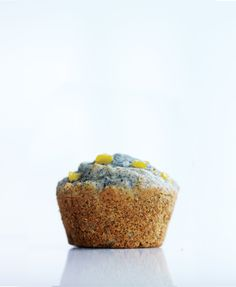 Buttermilk helps bring out the blue color of the cornmeal in these ...