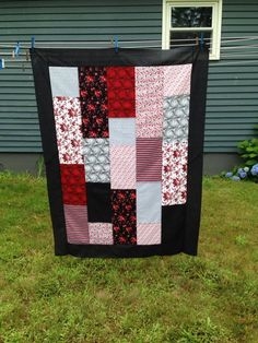 This quilt made by Beth for Joe Thurston's mom!  I am humbled by the wonderful work everyone has done!