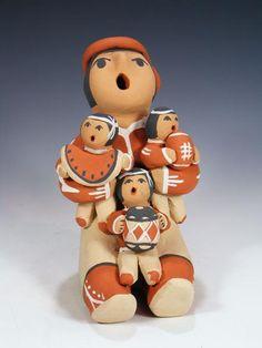 Jemez Pueblo Storyteller by Lyda Toya - PuebloDirect.com - 1