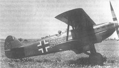 Avia (older version) used by Luftwaffe for training purposes. Ww2 Planes, Ww2 Aircraft, Luftwaffe, World War Two, Wwii, Air Force, Germany, Wings, Historia