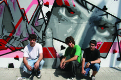 Gaztezuloren 88. alean David Tijero Spraikada 2008 txapelketako graffitilariekin izan zen.