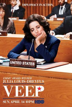 VEEP, if you liked In The Loop, you will LOVE this show.