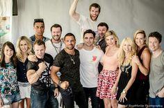 Spartacus cast photo