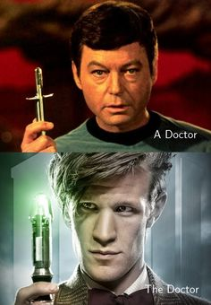 A Doctor. The Doctor.