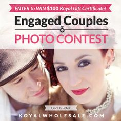 Koyal Wholesale August 2012 Engaged Couple Photo Contest!