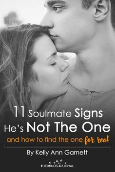 "To help you make space for your true soulmate, here are 11 sure-fire signs that he is not your ""One"" — so your true soulmate can show up in your life: 11 Soulmate Signs He's Not The One For You (and how to find the one for real) Soulmate Signs, Soulmate Love Quotes, How To Find Soulmate, Signs He's The One, Want You Back Quotes, Finding The One Quotes, Soulmate Connection, Make Him Want You, First Relationship"