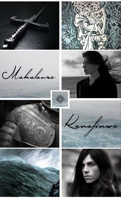 """""""And you will weep when you face the end alone you are lost you can never go home. """" - Maglor was the second of the Sons of Fëanor. He had more of his mother Nerdanel's gentle spirit than any of his brothers. """