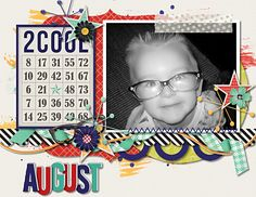 Layout using {Calendar Toppers Vol 2} by Dagi's Temp-tations available at Gingerscraps http://store.gingerscraps.net/Calendar-Toppers-Vol.2.html #digiscrap #digitalscrapbooking #dagistemptations #calendartoppers