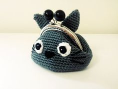 Totoro Crochet Coin Purse *Made to order*