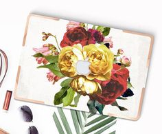 Vintage Floristry with Gold Accents Hybrid Hard by Cliqueshops