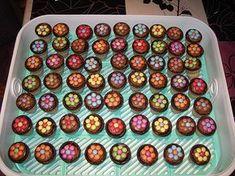 Kleine Kuchen im Waffelbecher 5