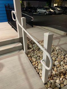 Khaki Explorer Pvc Handrails On Home S Rear Steps