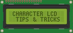 7 tips and tricks for driving a Arduino LCD Display like the common 2x20 and 4x20 screens. Learn how to use a buffer, sprintf(), and printing floats!