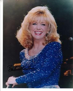 Barbara Mandrell Signed Autographed Glossy Country Singer Photo
