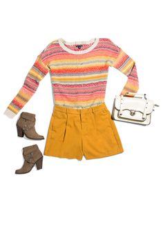 Shirt, ae.com; Shorts, oldnavy.com; Bongo boots, sears.com   - Seventeen.com