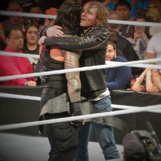 Roman Reigns and Dean Ambrose truly the best duo in wwe I hope they never turn on each other even though wwe is probably going to make them
