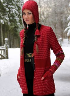 Nordic knitting design