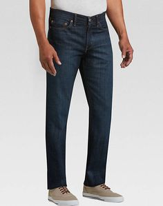 Levi's 514 Shoestring Dark Wash Classic Fit Jeans