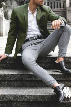 Mens fashion Swag Clothing - - Mens fashion Illustration Faces - Mens fashion Plus Size Body Types - Moda Formal, Mens Fashion Blazer, Men Fashion Show, Classy Mens Fashion, Suit Fashion, Style Masculin, Herren Style, Herren Outfit, Ideias Fashion