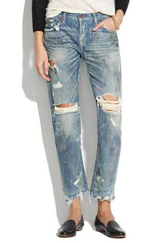 24 Pairs Of Boyfriend Jeans You Can Call Your Own  #refinery29 #madewell