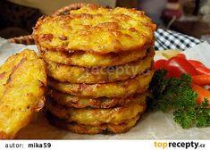 Pečené bramborové placky recept - TopRecepty.cz
