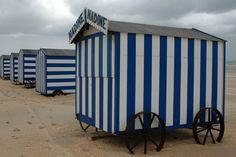 Belgische strandhuisjes, middelkerke?