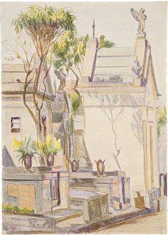 Gladys Maldaun, 'Cemitério do Araçá', 1984, Trapézio Galeria