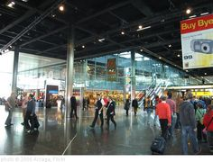 19 Airports You Wouldn't Mind Being Stuck In Amsterdam, Central Station, International Airport, Great Places, Got Married, Netherlands, Times Square, Street View, Mindfulness