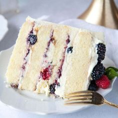 Berry Chantilly Cake With Mascarpone Frosting | Sugar Geek Show Cakes To Make, How To Make Cake, Tiramisu Dessert, Berry Chantilly Cake, Chantilly Cream, Food Cakes, Cupcake Cakes, Car Cakes, Buttermilk Cake Recipe