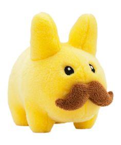 Kidrobot Yellow Stache Labbit Large Plush Toy