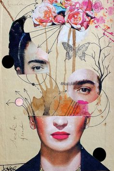 Frida For Beginners by Loui Jover is printed with premium inks for brilliant color and then hand-stretched over museum quality stretcher bars. 60-Day Money Back Guarantee AND Free Return Shipping.