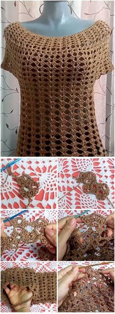 Crochet Marlene Blouse