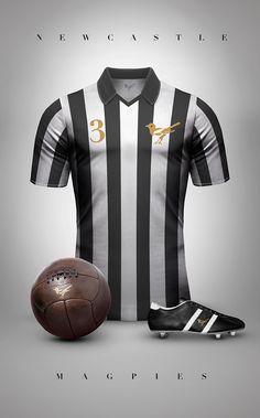 Newcastle estilo vintage