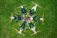 """Képtalálat a következőre: """"human mandala"""" Photography Photos, Creative Photography, Drone Photography, Family Yoga, Yoga Teacher Training Course, Partner Yoga, Montage Photo, Sport Fitness, Human Art"""