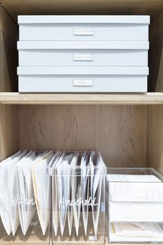 This is our new normal…but it won't last forever. At some point, we'll all come out on the other side this, very traumatized, but with really organized homes (and also. Organization Station, Home Office Organization, Organization Hacks, Organizing Life, The Home Edit, Ideas Para Organizar, Paper Clutter, Getting Organized, Declutter
